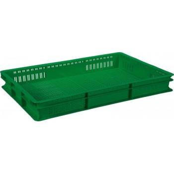 Перфорированный ящик 600x400x75