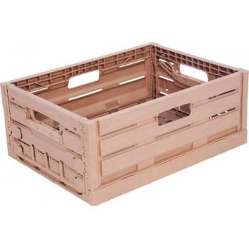 Ящик складной 400x300x160 с текстурой под дерево