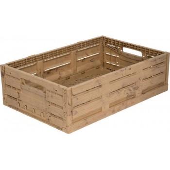 Ящик складной 600x400x160 с текстурой под дерево