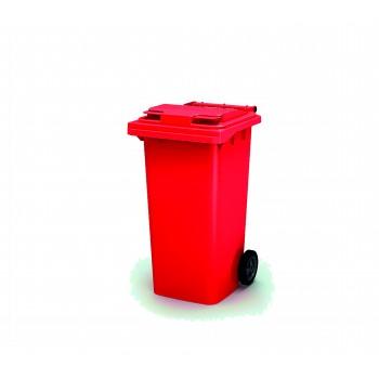 Мусорный бак 240 л (Красный)