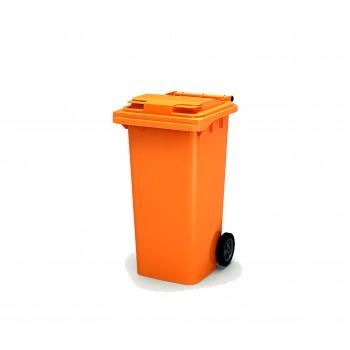 Мусорный бак 240 л (Оранжевый)