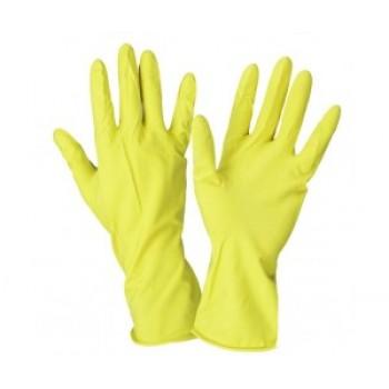 Перчатки хозяйственные с хлопковым напылением Вес: 42гр