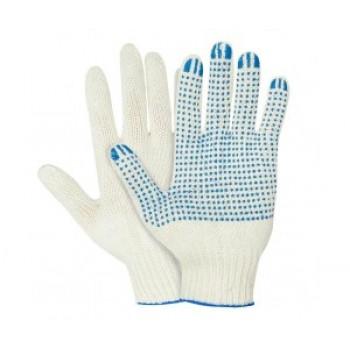 Перчатки ХБ с ПВХ Люкс, 5 нитей, 10 класс вязки