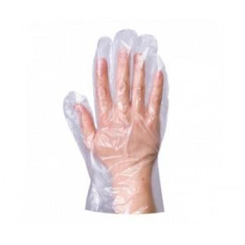 Одноразовые перчатки полиэтиленовые