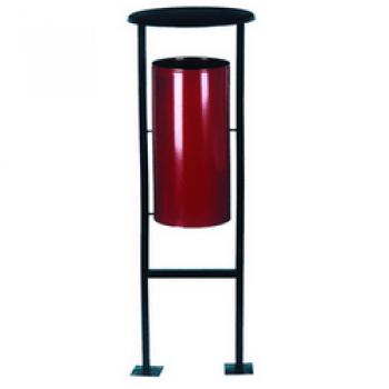 Металлическая напольная урна уличная УК-1
